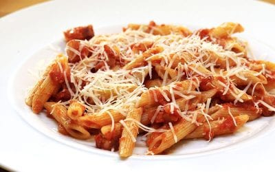 Penne with Amatriciana Sauce