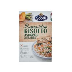 scotti asparagi 250x250 - Italian Rice Integrale Pumpkin, Asparagus and Quinoa