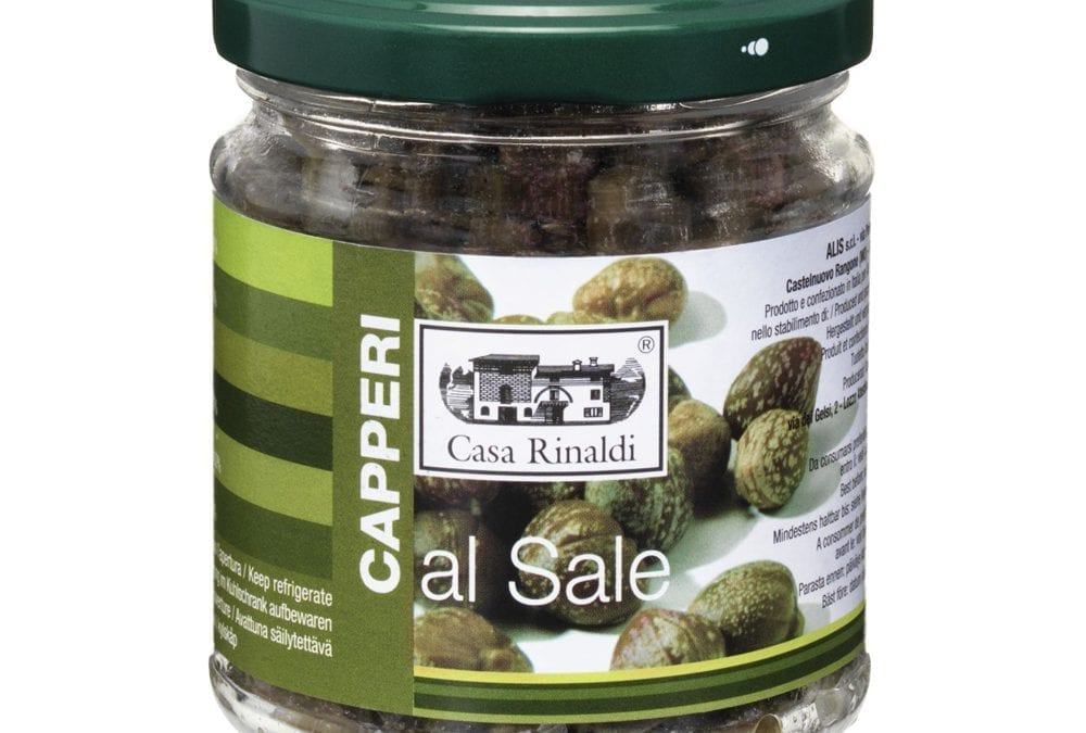 Italian Capers (Salted) – 100 gr