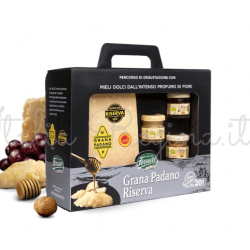 Grana Padano Riserva 250x250 - Grana Padano  Matured 20  With Honeys