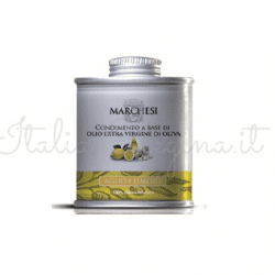 lemon tin 250x250 - Mini Lemon Olive Oil 100 ml - Marchesi