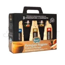 Italian Parmesan (Three Different Aged Cheese Tasting Pack) - Ferrari