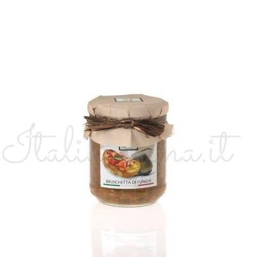 Italian Bruschetta (Mushroom) - Raffaelli