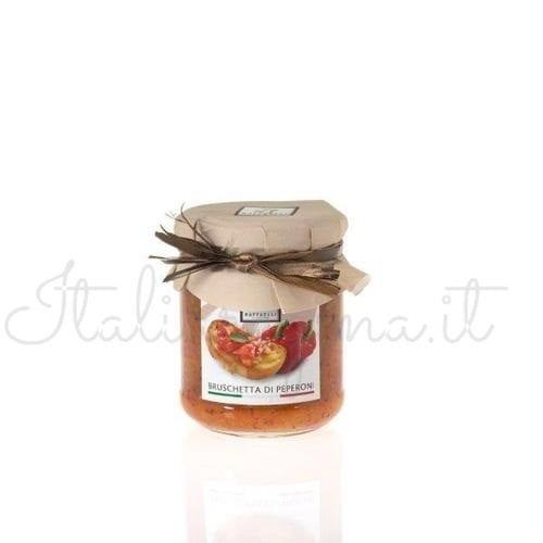 Italian Bruchetta (Bell Peppers) - Raffaelli