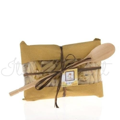 Italian Pasta (Penne) with Ladle Gift Set -Raffaelli