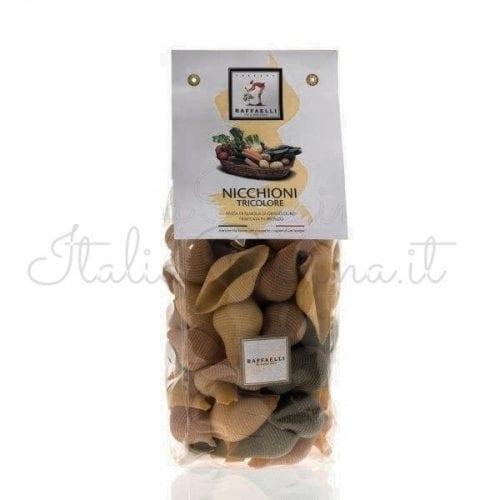 Italian Pasta Tricolour Nicchioni - Raffaelli