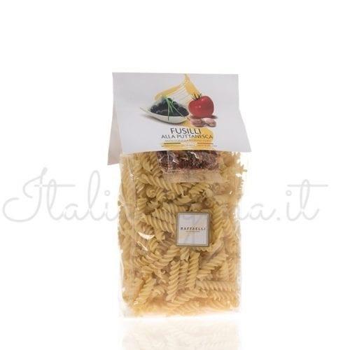 Raffaelli Fusili Pasta with Puttanesca Seasoning
