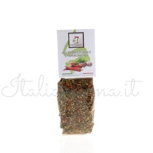 "Italian Seasoning ""Garlic, Parsley, and Chili Pepper"" - Raffaelli"