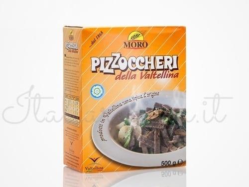 Italian Pizzoccheri Pasta
