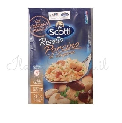 Italian Risotto (Dry Seasonal Mushrooms) - Riso Scotti