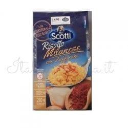 Italian Risotto (Dry Milanese with Saffron) - Riso Scotti