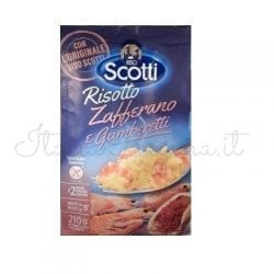 Italian Risotto (Saffron and Shrimp) - Riso Scotti