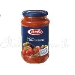 Italian Sauce (Puttanesca) - Barilla - 270 gr