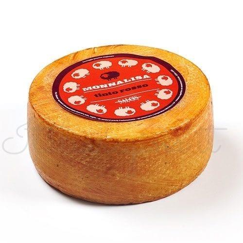 Italian Pecorino Cheese - Salcis Rigatino Tinto Rosso
