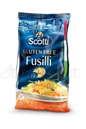 Italian Gluten Free Pasta (Fusilli) - Riso Scotti