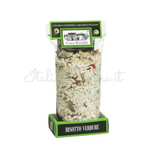 vegetable risotto 500x500 - Vegetable Risotto 300 gr - Casa Rinaldi
