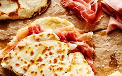 The recipes of Piadina Romagnola