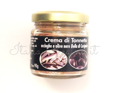 acciughe olive - Tuna Cream with Black Olive