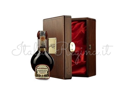 aceto box - Affinato Balsamic Vinegar wood box 100 ml - Giuseppe Giusti