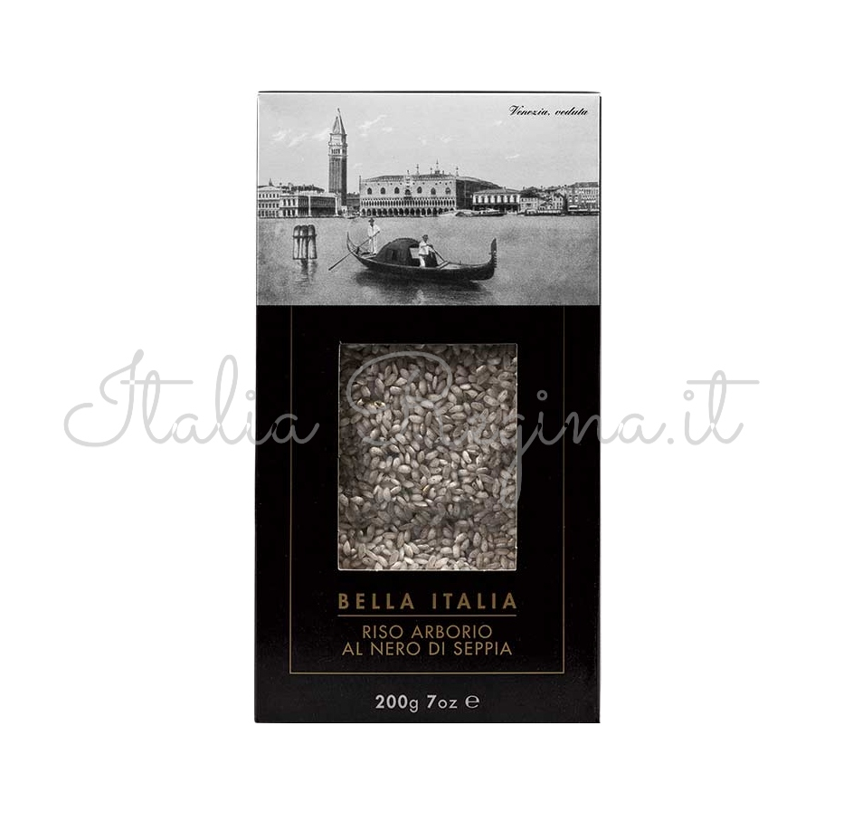 bella italia 12 - Black Sauce Squid Rice 200gr - Bella Italia