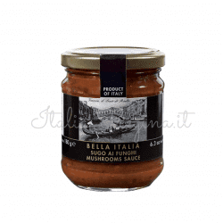 bella italia 2 1 250x250 - Mushroom Tomato Sauce 180 gr - Bella Italia
