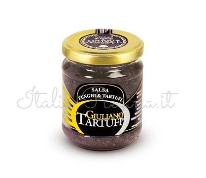 Mushrooms and Black Truffle Sauce – Giuliano Tartufi