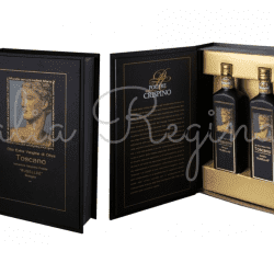 olio1 250x250 - 100% Italiano Rusellae Extra Virgin Olive Oil box 2 x 200 ml - Podere Crispino