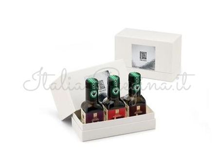 pruneti 2 - Chianti Extra Virgin Olive Oil Gift box 3 x 100 ml - Pruneti