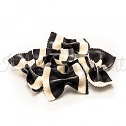 zanier 3 250x250 - Black & White Farfalle Pasta 250 gr - Zanier