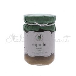 crema cipolle 250x250 - Onions sauce 180 gr - Azienda Agricola Cesare Bertoia