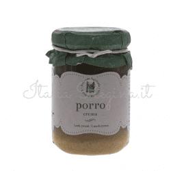 crema porro 250x250 - Leek sauce 180 gr - Azienda Agricola Cesare Bertoia