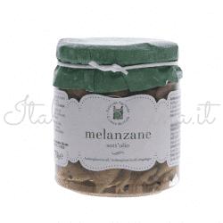 melanzane 250x250 - Aubergines in Oil, 270 gr - Azienda Agricola Cesare Bertoia