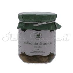 radicchio 250x250 - Wild Chicory in Oil, 270 gr - Azienda Agricola Cesare Bertoia