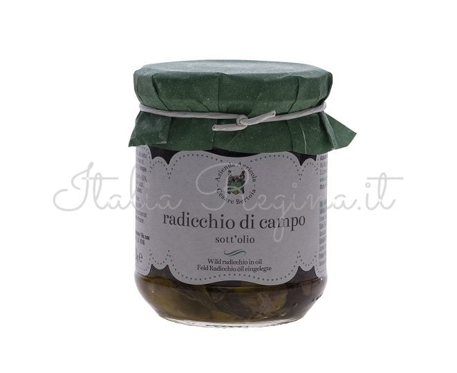 Wild Chicory in Oil, 270 gr – Azienda Agricola Cesare Bertoia