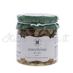 zucchine 250x250 - Zucchini in Oil, 270 gr - Azienda Agricola Cesare Bertoia