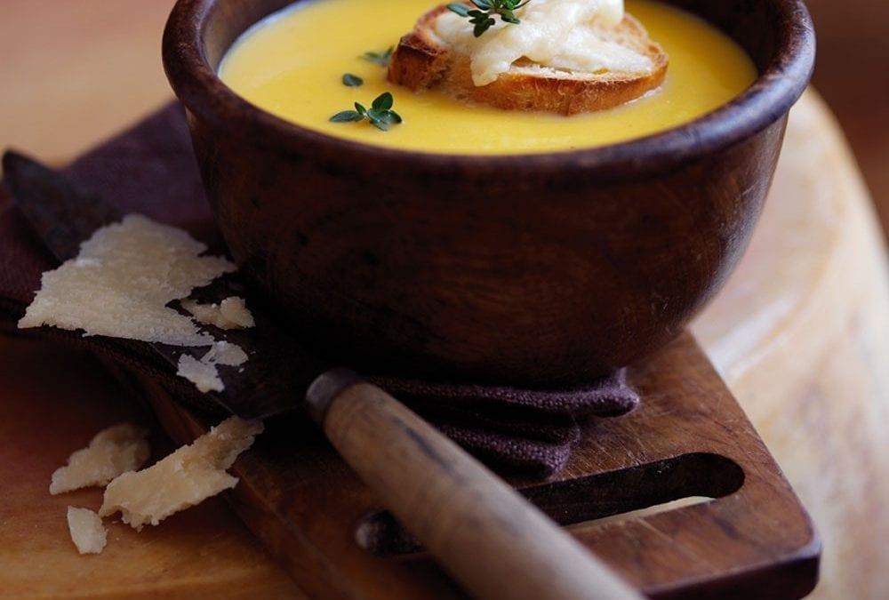 Pumpkin and Parmesan Soup
