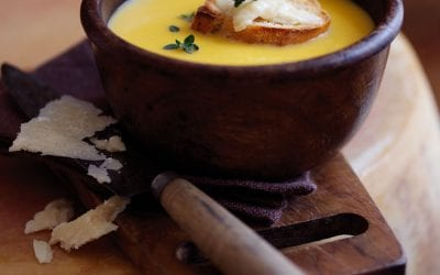 Pumpkin and Parmesan Soup