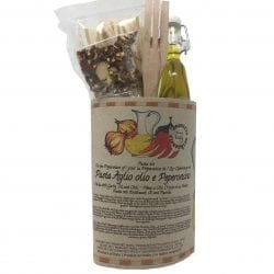 Pasta Kit Spaghetti Oil, pepper, garlic
