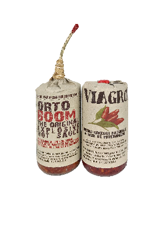Hot Sauce Kit Viagrò + Ortoboom hot sauces