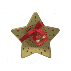 Christmas Star Shaped Box