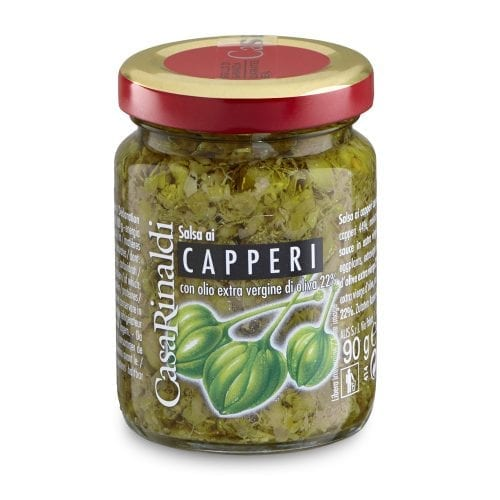 sauce with capers from Sicily