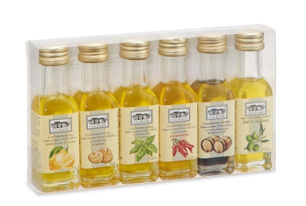 Italian Gourmet Gift Set – Six Olive Oil Sampling Set (6x18ml)
