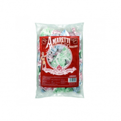 amaretti 250x250 - Italian Amaretti cookies with almond flavor - Box: 4 packs