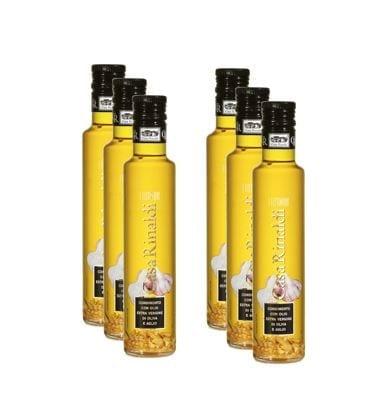 Extra Virgin Oil Garlic – Box: 6 bottles