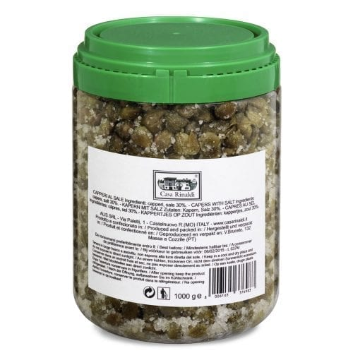 005320129 500x500 - Italian Capers (Salted) - Box: 6 cans