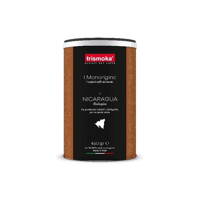 Bio Italian Coffee Beans Monorigine Nicaragua – 450 gr