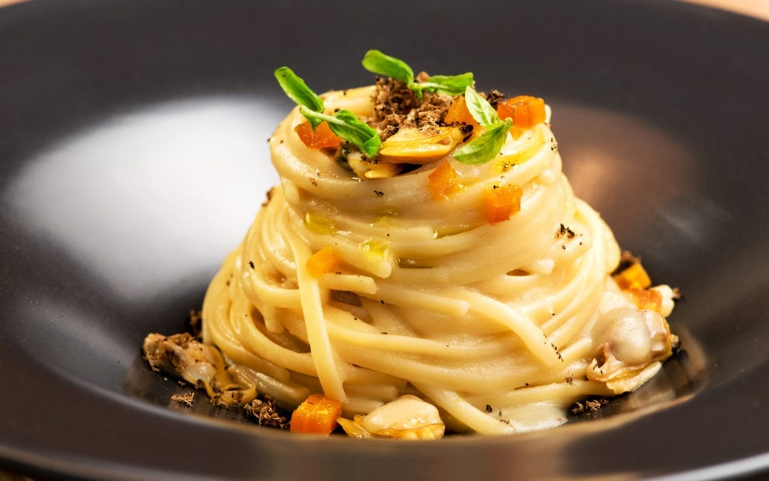 Truffle and Claims Pasta