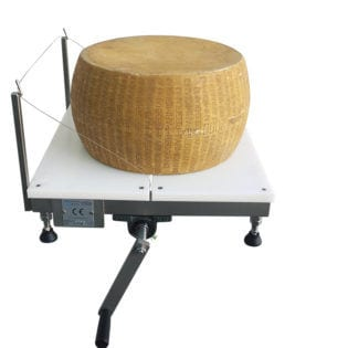 Manual Parmesan cutting machine