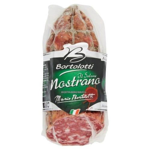 Italian salami nostrano