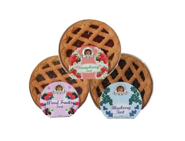 3 Crostata Cake – Strawberry, Blueberry, Wildberry